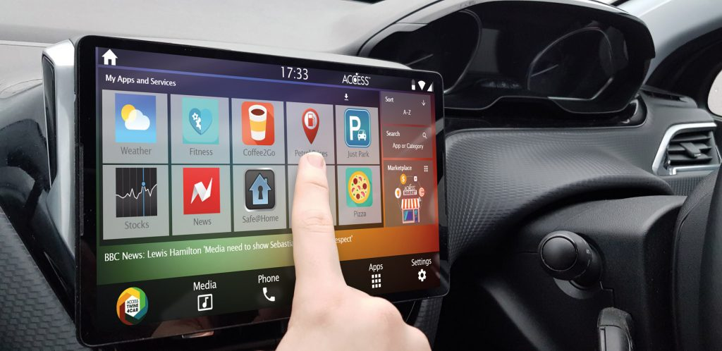 Content Service and Software Solution for Connected Car