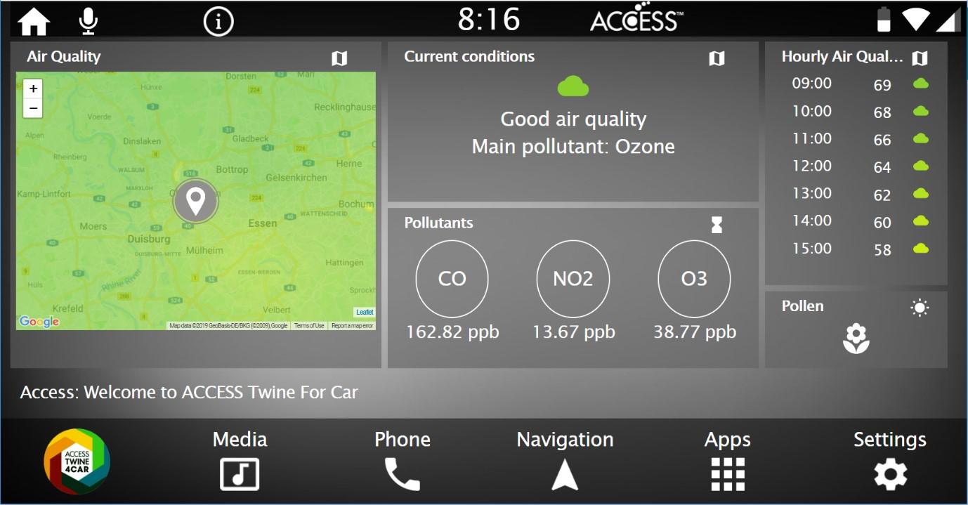 ACCESSとBreezoMeterとの協業により、ドライバーは最も健康的なルートが選べるようになります